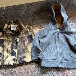 Columbia and baby gap sweatshirts